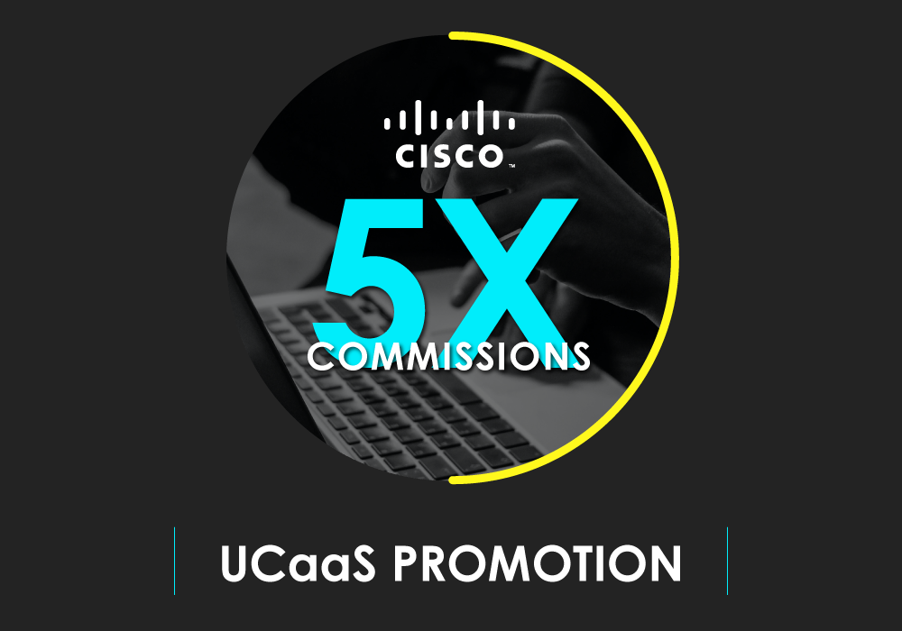 5X Cisco Commissions