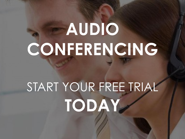 Audio Conferencing | Free trial
