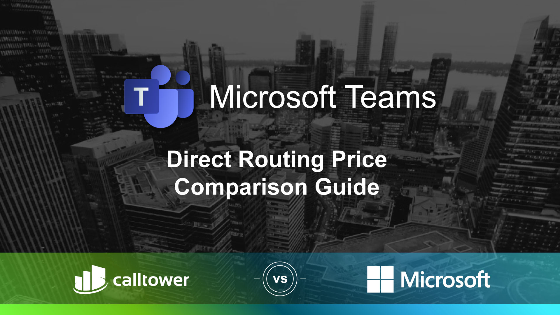 Microsoft Teams Direct Routing Price Comparison Guide