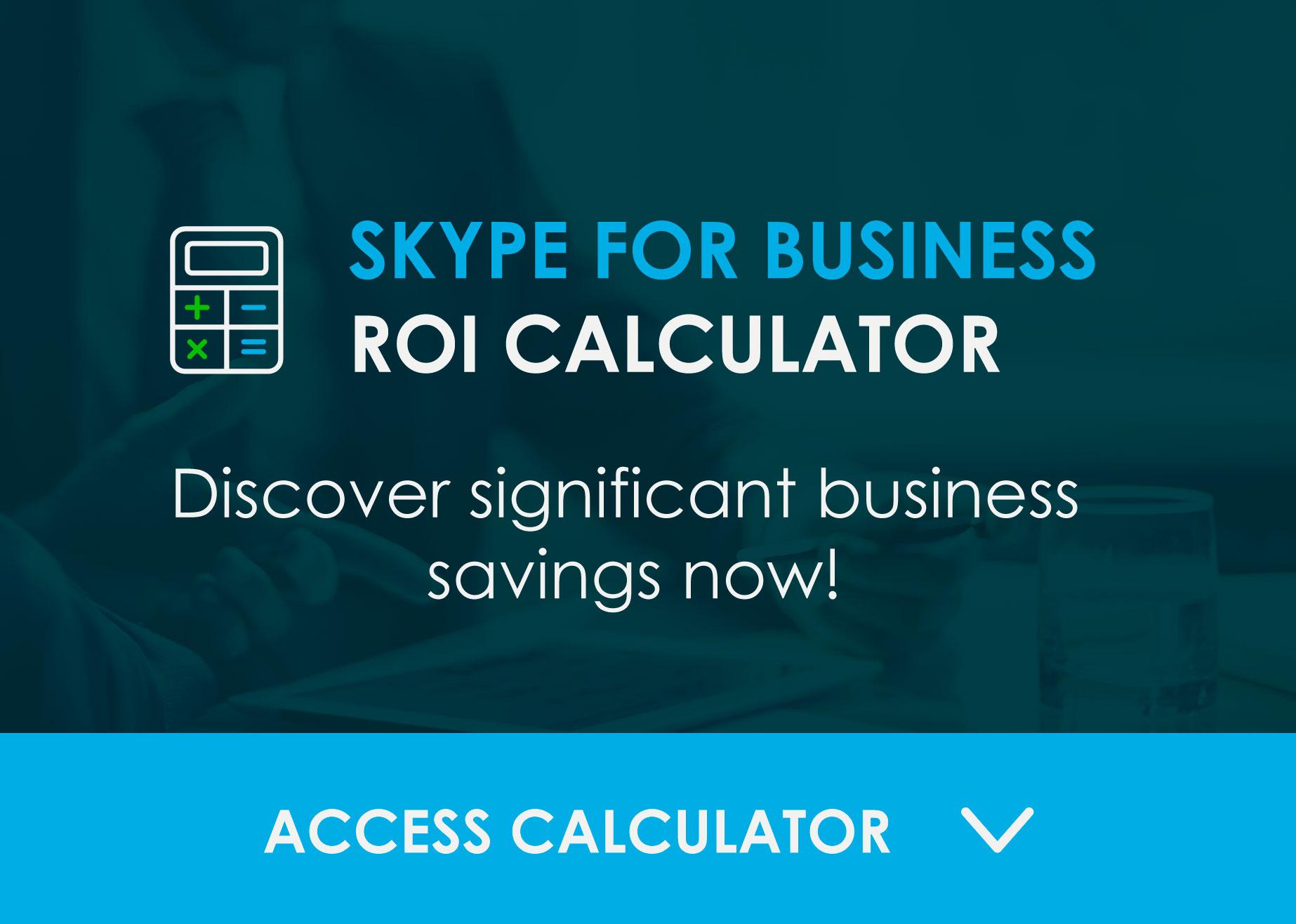 Skype for Business ROI Calculator