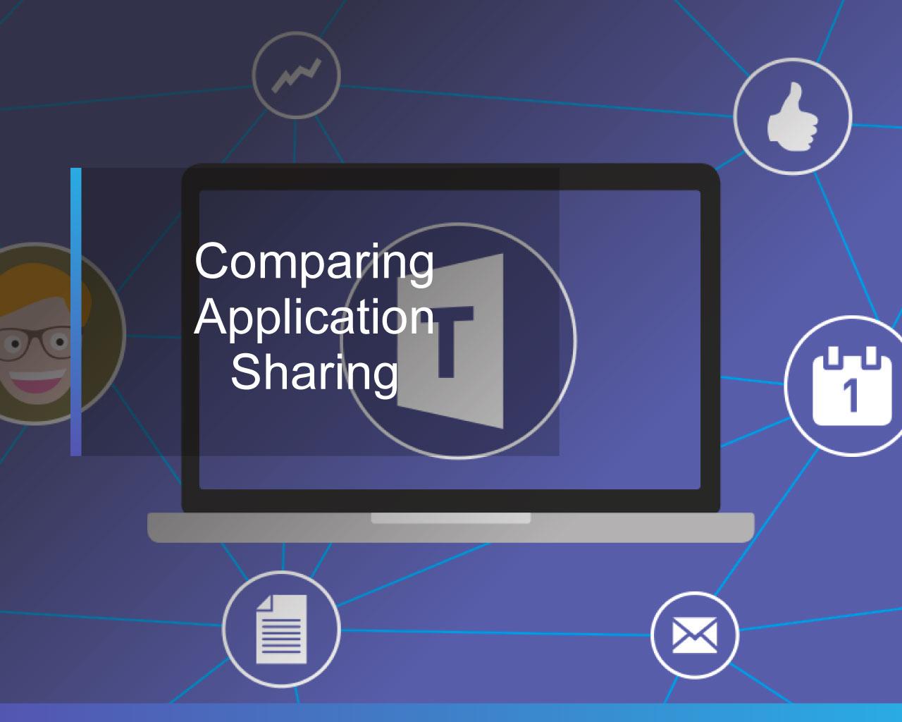 Teams & S4B Comparing Application Sharing