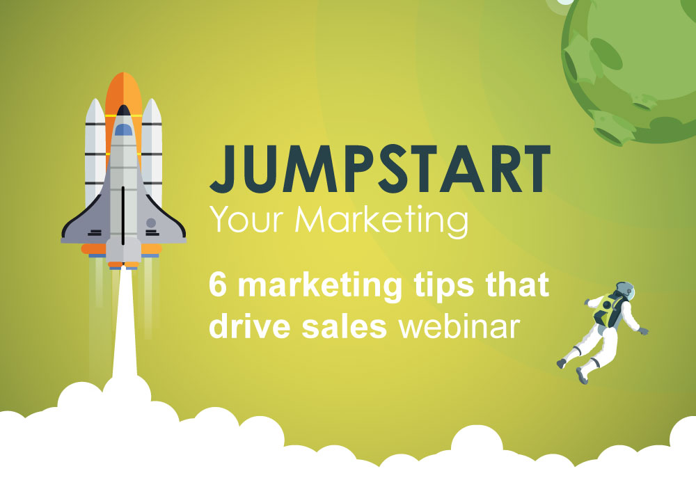 🚀Jump Start your Sales with Powerful Marketing Tips // Webinar