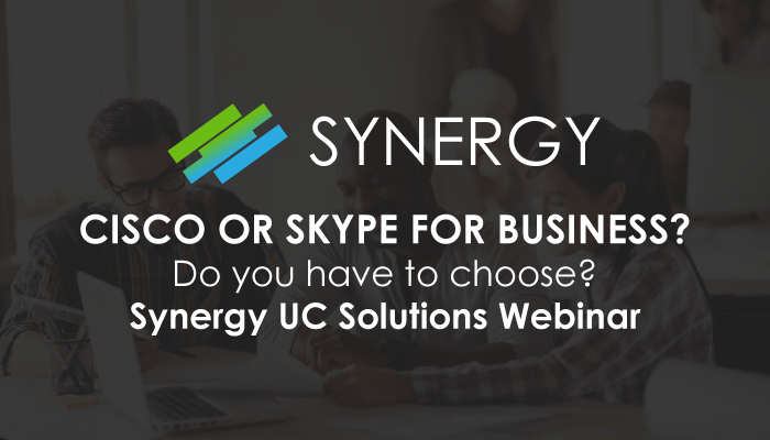 Synergy UC Solutions Webinar
