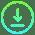Gradient Download Button