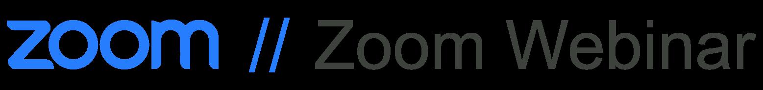 Zoom Zoom Webinar
