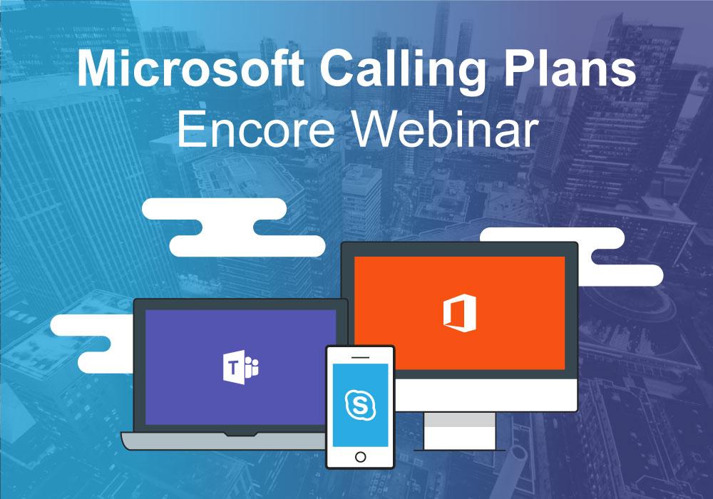 Microsoft Calling Plans Webiar