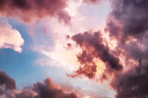 info.calltower.comhubfsdown-angle-photography-of-red-clouds-and-blue-sky-844297-1