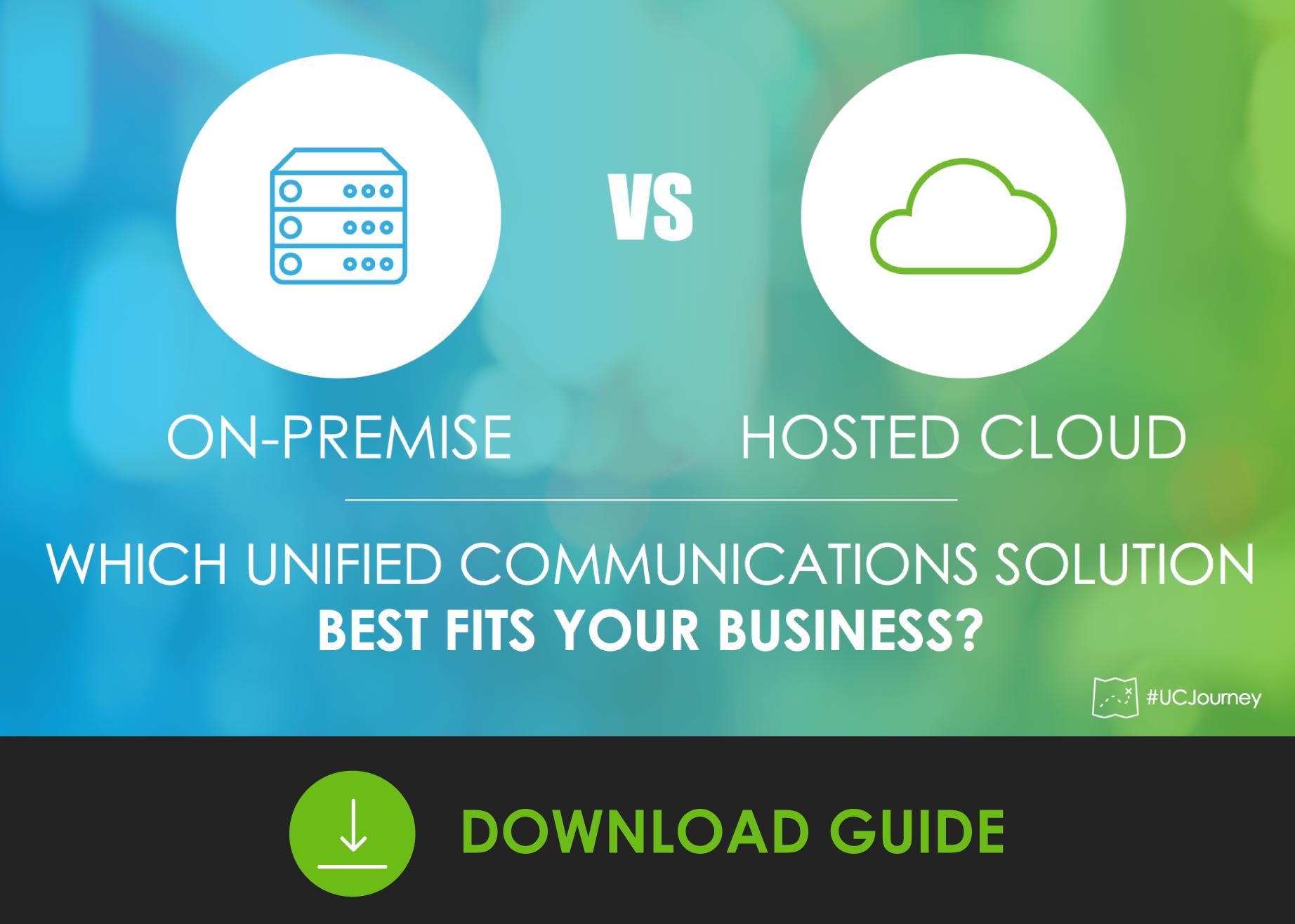 On-Prem vs Hosted Cloud