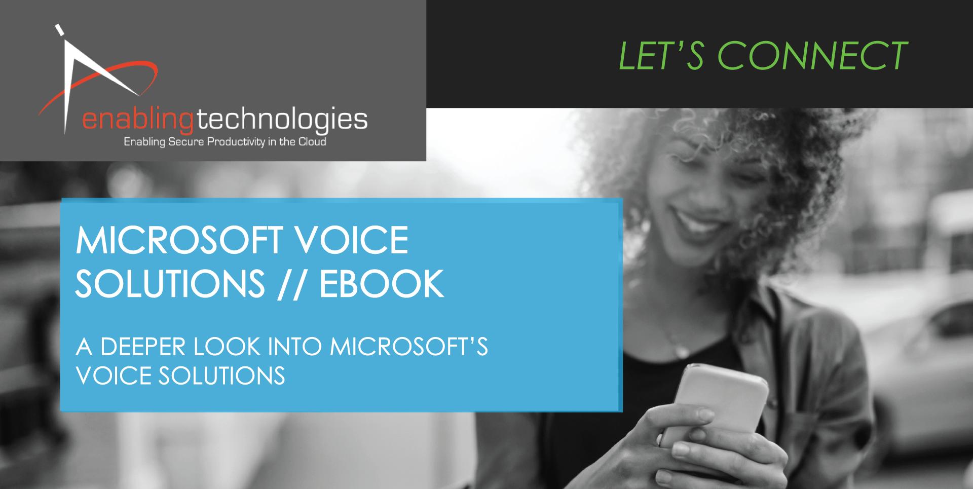 Microsoft Voice Solutions eBook
