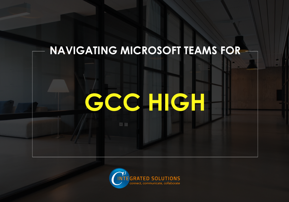 gcc high conferecing microsoft teams direct routing